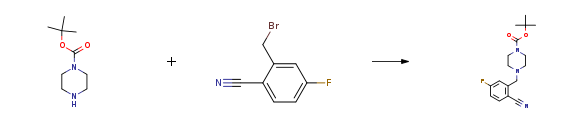 Route of Synthesis (ROS) of 2-CYANO-5-FLUOROBENZYL BROMIDE CAS 421552-12-7