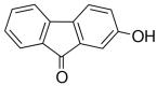 Struttura del 2-idrossi-9-fluorenone CAS 6949-73-1