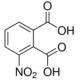 Struttura dell'acido 3-nitroftalico-CAS-603-11-2
