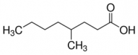 Structure du 4-méthyloctanoicacid CAS 54947-74-9