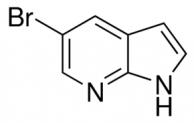 מבנה 5-Bromo-7-azaindole CAS 183208-35-7