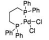 Structure du bis (tricyclohexylphosphine) palladium (0) CAS 59831-02-6