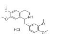 Struttura della tetraidropapaverina cloridrato CAS 6429-04-5