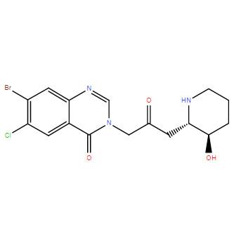 Halofuginone CAS 55837-20-2 संरचना