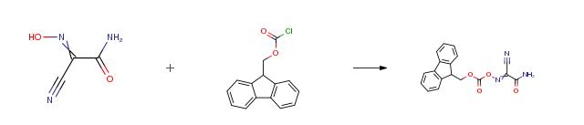 Fmoc-Amox CAS 1370440-28-0 के संश्लेषण (आरओएस) का मार्ग