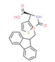 Fmoc-(r)-3-チエニルグリシンCAS 1217774-71-4の構造