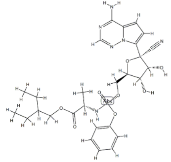 Structure of Remdesivir CAS 1809249-37-3
