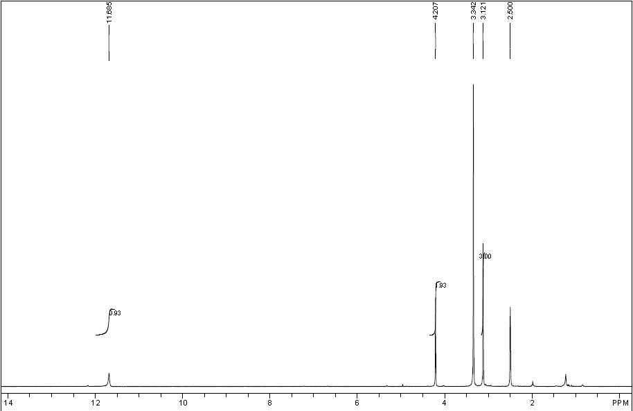 HMMR של 1-מתיל-2-תיוקסימידאזולידין -4-און CAS 29181-65-5