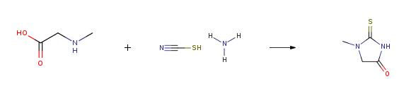 מסלול הסינתזה (ROS) של 1-מתיל-2-ת'וקסימידאזולידין-4-אחד CAS 29181-65-5