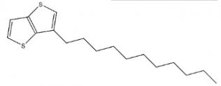 מבנה של 3-undecylthieno [3,2-b] thiophene CAS 950223-97-9