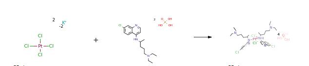 Ruta de síntesis (ROS) del difosfato de cloroquina CAS # 50-63-5