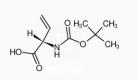 Estructura de Boc-L-vinilglicina CAS 91028-39-6