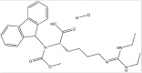 Fmoc-Homoarg(Et)2-OH・HClCAS1864003-26-8の構造