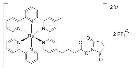 هيكل TAG-NHS-Ester CAS 161698-59-5